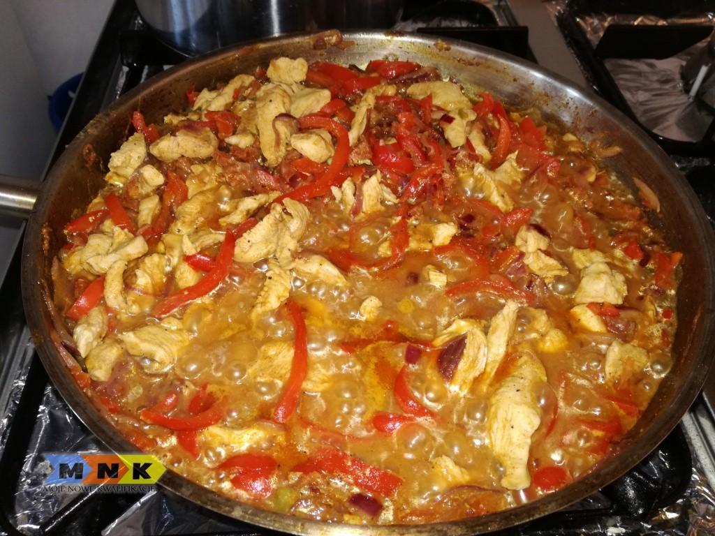 meksykańskie fajitas z kurczaka